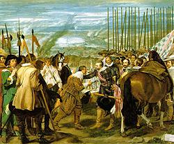 La rendición de Breda o Las Lanzas (Velázquez - 1635)